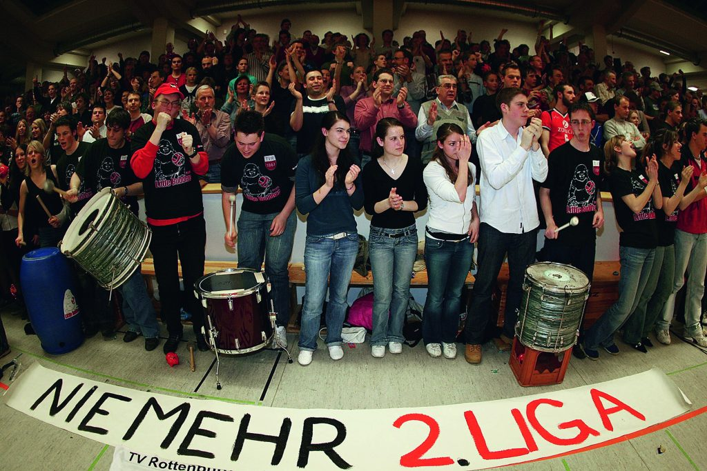 Herren 1: Aufstieg in die 1. Bundesliga